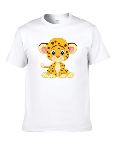 Cheetah Baby Animal Baby Clothing Men T Shirt
