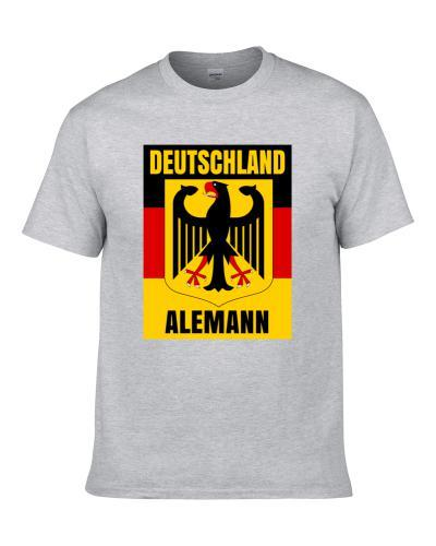 Alemann German Coat Of Arms Flag Family Surname Men T Shirt