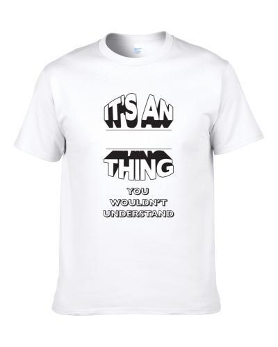 Its An Aj Thing Fun Graphic Personalized Name S-3XL Shirt