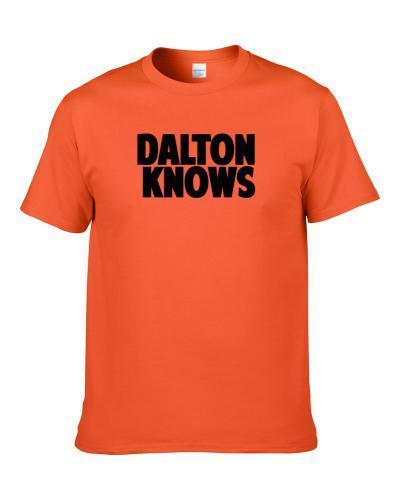 Andy Dalton Knows Cincinnati Football Player Sports Fan S-3XL Shirt