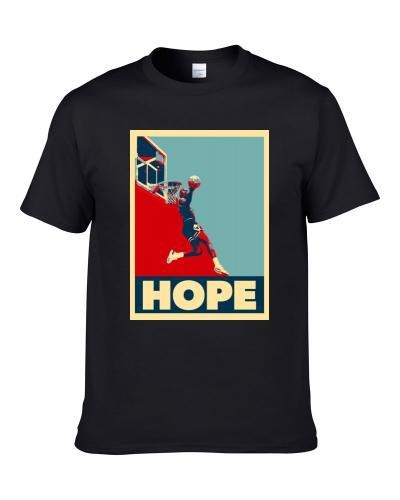 Michael Jordan Hope Dunk Men T Shirt