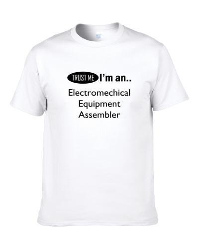 SuperHero Cleverly Disguised As  Electromechical Equipment Assembler  Shirt For Men