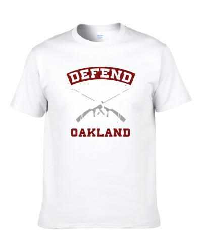 Defend Oakland Strength Pride T Shirt