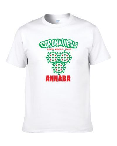 Coronavirus 2020 World Tour Annaba S-3XL Shirt