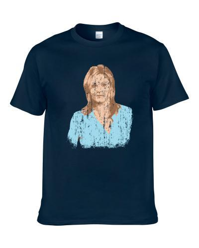 Claire Dunphy Watercolor Fun TV Movie Character Worn Look Cool tshirt