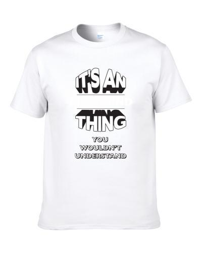 Its An Allemand Thing Fun Graphic Personalized Name S-3XL Shirt