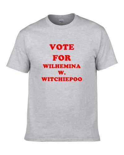 Vote For Wilhemina W  Witchiepoo Tv Show H  R  Pufnstuf tshirt