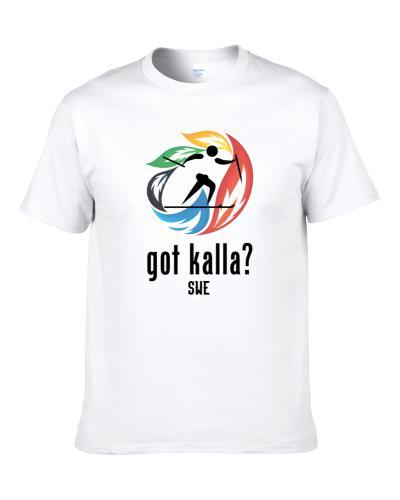 Charlotte Kalla Swe Cross Country Ski Winter Olympics S-3XL Shirt