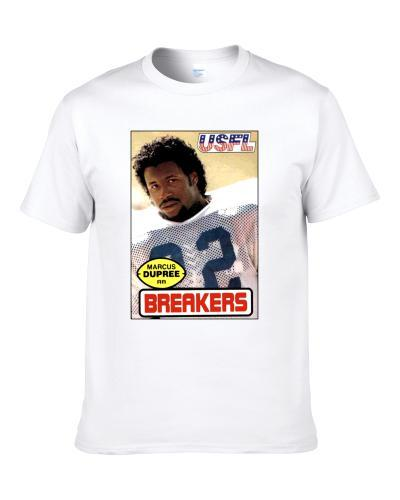 Marcus Dupree New Orleans Portland Breakers S-3XL Shirt