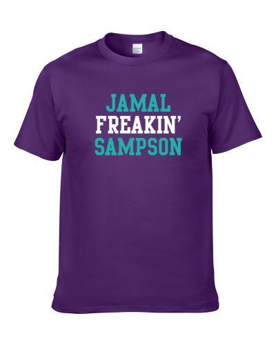 Jamal Sampson Freakin Favorite Charlotte Basketball Player Fan tshirt for men