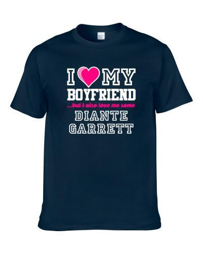 I Love My Boyfriend Also Love Me Some Diante Garrett Utah Basketball Player Fan Men T Shirt