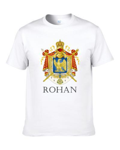 Rohan French Last Name Custom Surname France Coat Of Arms Shirt For Men