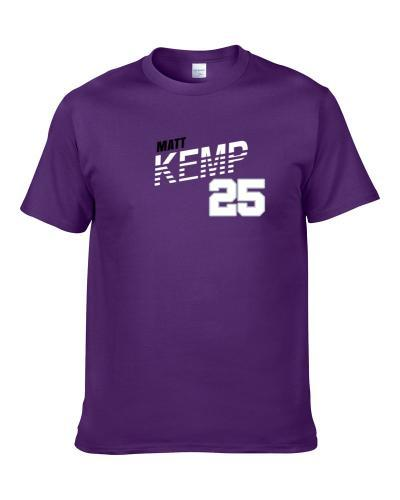 Matt Kemp 25 Favorite Player Colorado Baseball Fan Men T Shirt