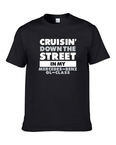 Cruisin Down The Street Mercedes-Benz Gl-Class Straight Outta Compton Car Hooded Pullover T Shirt