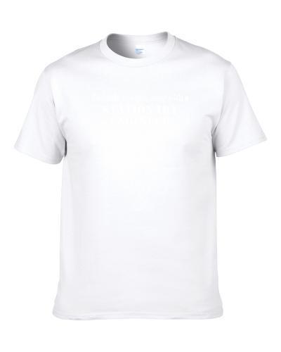 Feel Safe Sleep With A Stationary Engineer Funny S-3XL Shirt