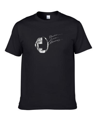 Daft Punk Random Access Memories Black tshirt