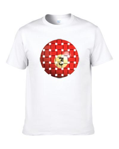 Pool Billiards Player Ball 3 Weave Cool Gift Men T Shirt