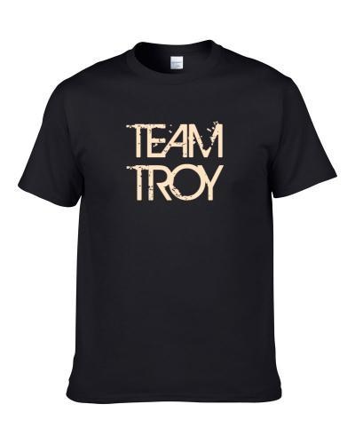 Team Sports Last First Name Troy Shirt