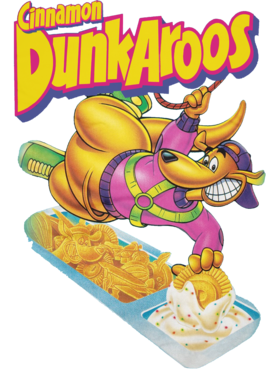 Cinnamon Dunkaroos Junk Food Logo Fan S-3XL Shirt