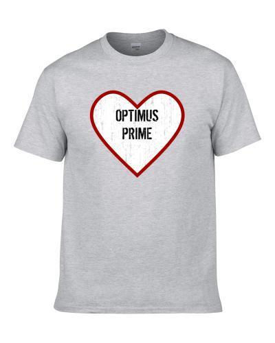 Optimus Prime Transformers Prime Love Tv Character Men T Shirt