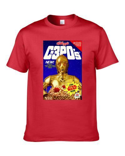 C3pos Retro 80s Star Wars Cereal Shirt