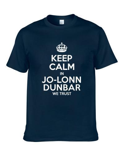 Keep Calm In Jo-Lonn Dunbar We Trust St Louis Football Player Sports Fan T Shirt