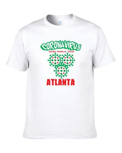 Coronavirus 2020 World Tour Atlanta S-3XL Shirt