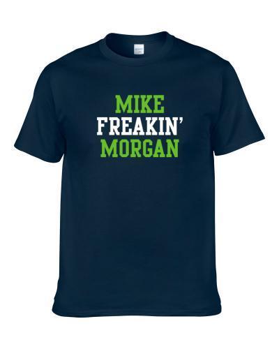 Mike Freakin' Morgan Seattle Football Player Cool Fan T Shirt