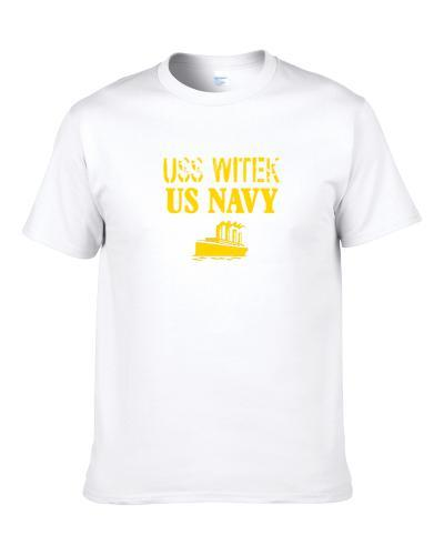 Uss Witek Us Navy Ship Crew T Shirt