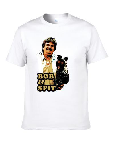 Bob And Spit British Tv White S-3XL Shirt