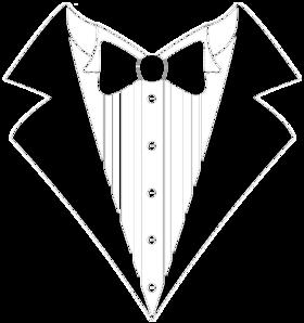 Classic Tuxedo Black Shirt