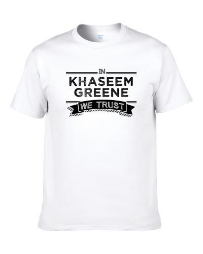 In Khaseem Greene We Trust Tampa Bay Football Player Fan S-3XL Shirt