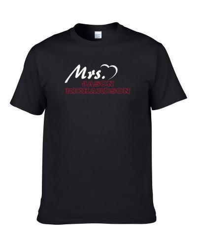 Mrs Jason Richardson Phoenix Basketball Player Married Wife Cool Sports Fan Shirt