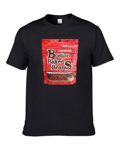 Boston Baked Beans Retro Candy Gift Worn Look Men T Shirt