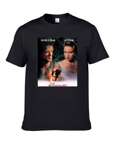 The Specialist 90s Retro Movie Fan Poster Fan Men T Shirt