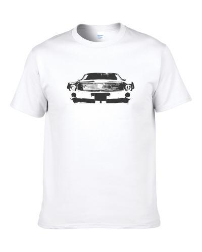 1968 Amx Grill View Faded Look White S-3XL Shirt