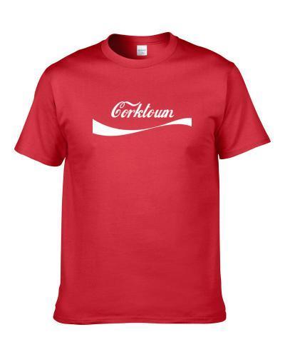 Corktown Usa Cola Parody tshirt