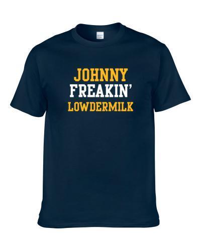 Johnny Freakin' Lowdermilk San Diego Football Player Cool Fan T Shirt