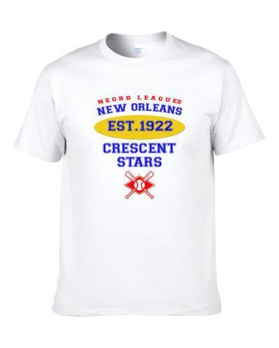 New Orleans Crescent Stars Baseball Northern Southern League Colored League Baseball Logo Apron T-Shirt