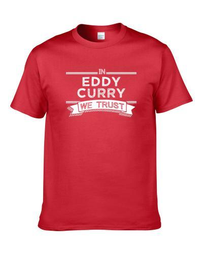 In Eddy Curry We Trust Chicago Basketball Players Cool Sports Fan Men T Shirt
