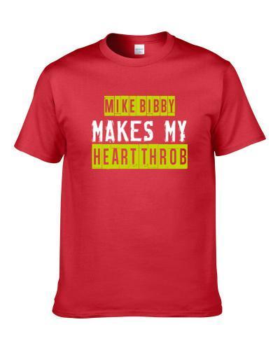 Mike Bibby Makes My Heart Throb Atlanta Basketball Player Cool Fan tshirt