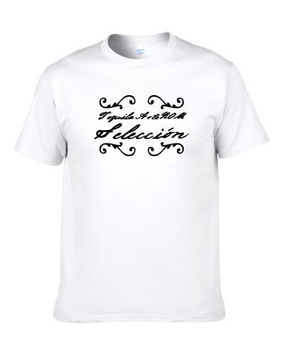 Tequila Artenom Seleccion  Tequila Lovers Logo tshirt for men