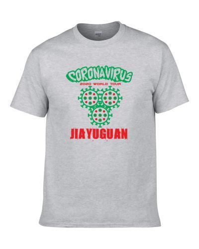 Coronavirus 2020 World Tour Jiayuguan Men T Shirt