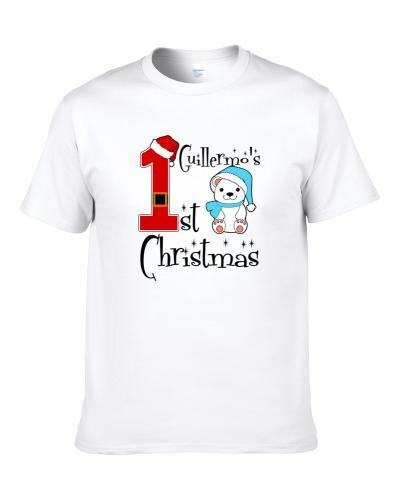 Guillermo Baby Boy First Christmas Cute Christmas S-3XL Shirt