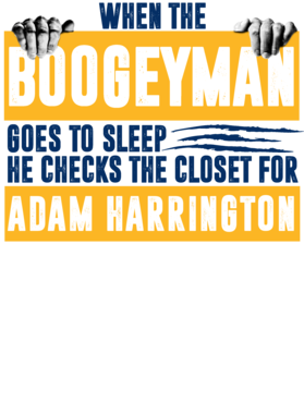 Adam Harrington Boogeyman Checks Closet For Denver Basketball Shirt