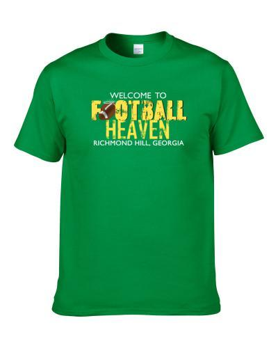 Welcome To Football Heaven Richmond Hill, Georgia Shirt