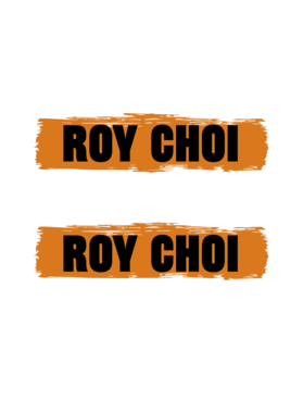 Be Yourself Unless You Can Be Roy Choi Funny The Chef Show Tv Show Essentials T Shirt