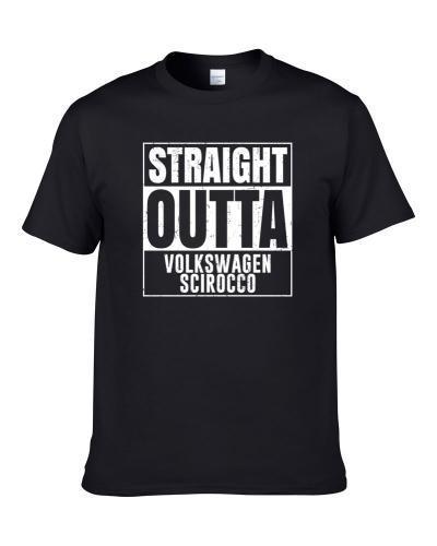 Straight Outta Volkswagen Scirocco Compton Parody Car Lover Fan T Shirt