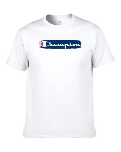 Champion Track and Field Sport Athletic Worn Look Cool tshirt for men