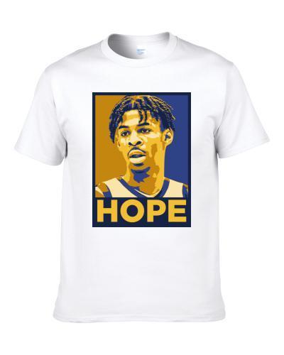 Ja Morant Murray State Basketball Hope Men T Shirt